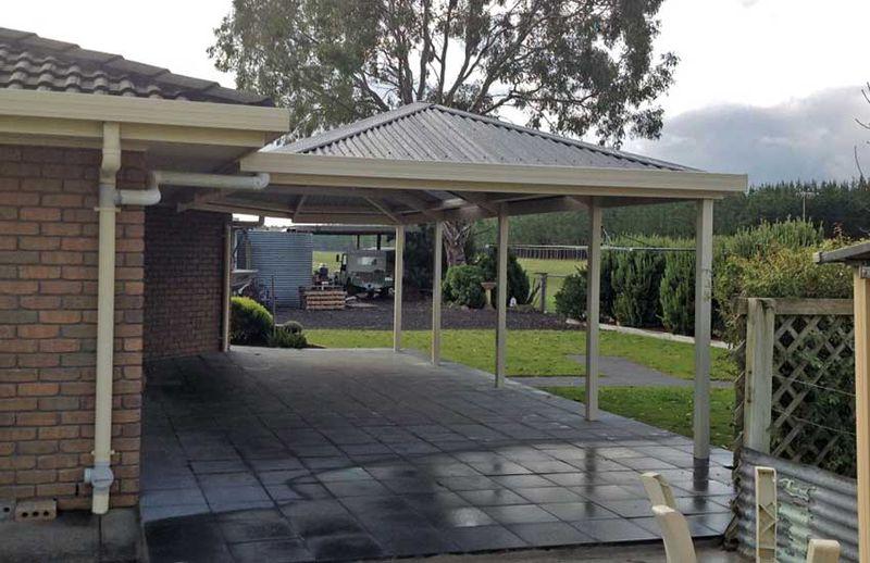 Carport builders melbourne elite garages barns for Carport design software